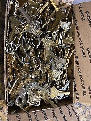 Schlage Set Up Keys, In Sets, Originals, Full Box, .most Are 5 Pin (C)
