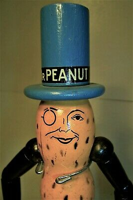 Planters Mr. Peanut Wood Doll