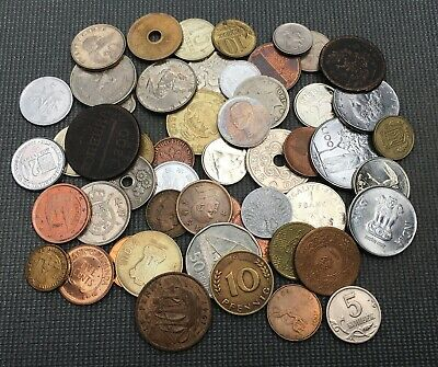 World Coins Collection Lot Old Coins Russia, Germany, UK, Asia, and many more...
