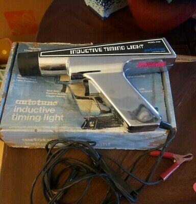Auto-Tune Inductive Timing Light Model 4138 - Made In Usa C7