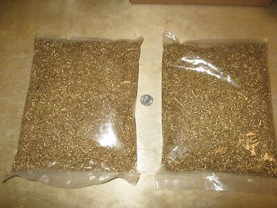 BRASS Shavings, Chips, Turnings Clean Dry 6 pounds Science Orgone Art Health