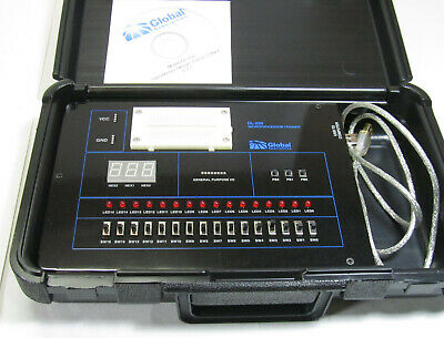 Global Specialties DL-030 Microprocessor Logic Trainer With Disc