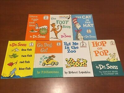 Dr. Seuss Books - Collection of Seven