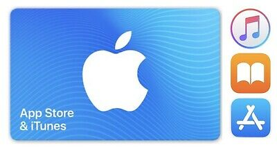 App store itunes gift card 10 X $10 - Email Delivery, No Shipping