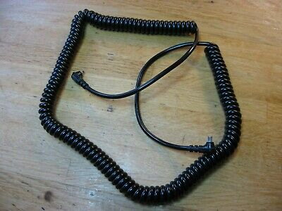Genuine Canon FD Synchro Cord (Long Coiled) for F-1n