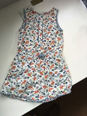 Cute Boden Mini Boden Girls Summer Floral Playsuit Age 4-5 Years