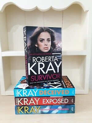 Collection of 4 x Paperback Books - Roberta Kray - Survivor, Deceived - NEW