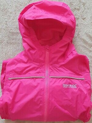 Regatta Children's Puddle Iv All-in- One Suit 48-60 months 4-5 Yrs Pink (Jem)