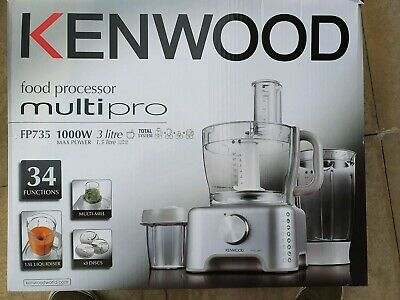 Kenwood food processor BRAND NEW ORIG PACK Multipro 1000W 34 FUNCTIONS