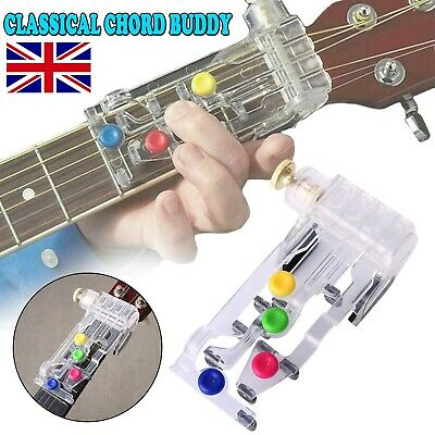 UK Classical Chord Buddy Guitar Learning System Teaching Aid Chordbuddy Unit Kit
