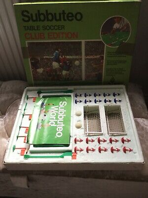 Subbuteo Club Edition Table Soccer