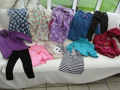 Bundle Of Girls Clothing 3 - 7 Yrs Job Lot Kids Clothes Young Dimension Pep&Co