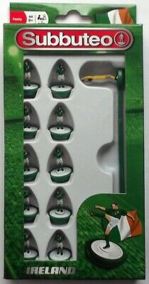 Subbuteo Team Set - Ireland Brand New Boxed Football Game Figures Paul Lamond