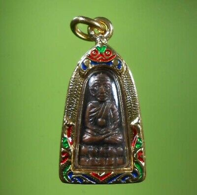 Great Lp Tuad Hot Old Amulet Pendent Very Rare !!!