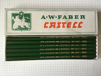 Vintage Pencils A.W. FABER-CASTELL 9000 HB : Germany