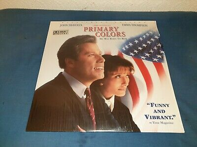 Primary Colors  Laserdisc  2 Disc Widescreen Edition