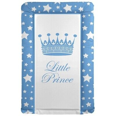Changing Mat Blue Prince Design Baby Boy Changing Mat (79cm X 46cm) 🇬🇧 Made