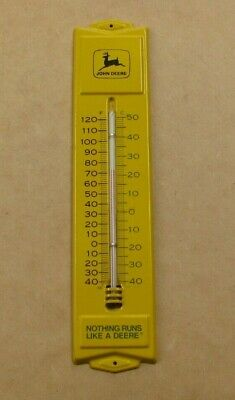 JOHN DEERE THERMOMETER TWO LEGGED DEER 1950's STYLE 13 inch