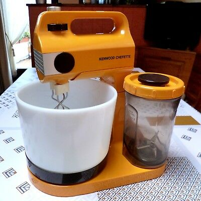 KENWOOD ➤ Chefette A355 Orange Vintage70 Robot électroménager Food Mixer Blender