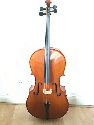Andreas Zeller (for Stentor) Full Size 4/4 Cello with hard case