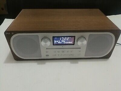 Pure Evoke C-D6 DAB+FM Bluetooth Stereo All-In-One Sound System Walnut