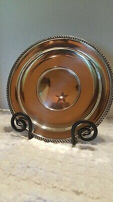Preisner Sterling Silver 10 1/2 Inch Large Plate Gadroon Edge Border