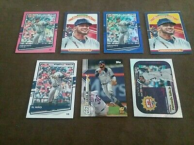 (7) Different Fernando Tatis Jr. cards. Get All cards in picture-mint