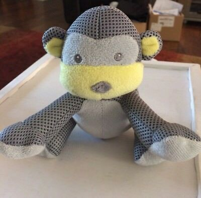 Breathable Baby Monkey plush 6""