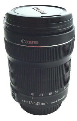 Canon EF-S 18-135mm F/3,5-5,6 IS STM Objetivo - Negro