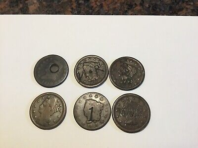 United States Large Cent Coins