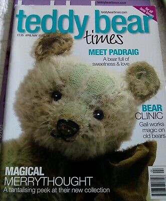 TEDDY BEAR TIMES MAGAZINE April/May ISSUE 186.