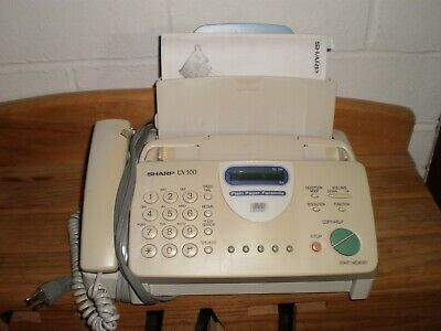 Fax Machine Sharp Ux-300