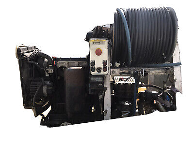 Rioned drain jetter van pack Lombardini LDW 1404 Diesel Engine 54 L/pm