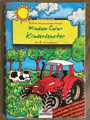 Window Color Kinderfenster Ideen rund ums Jahr (Christophorus 2002, Broschiert)