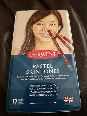 Derwent 2300563 Skintones Pastel Pencils, Colouring Pencils for Portrait , Set