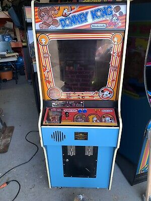 Nintendo Donkey Kong Upright Video Arcade Machine. Refurbished Electronics
