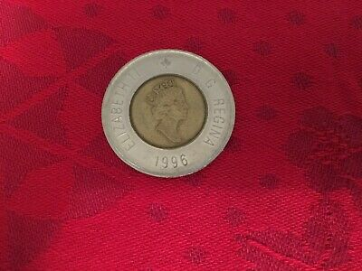 1996 Canadian 2 Dollar Coin