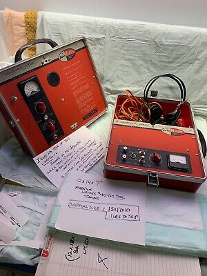 Fisher M-Scope Professional Pipe & Cable Locator - Transmitter & Receiver Older