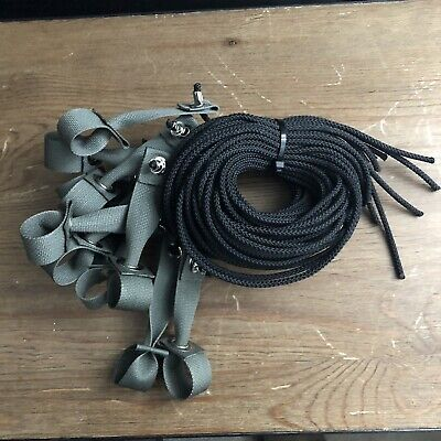 Tie Cords for Poultry, Chickens 12, 6ft Nylon Hitches tiecords, string walk