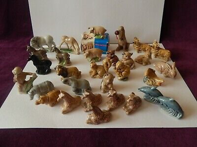 Loads Wade Whimsies Animals Lion Rhino Hippo Pigs Dogs Dolphin Fish Etc.. S/R