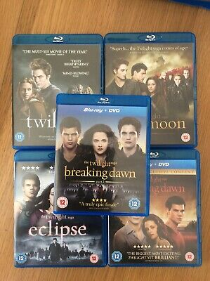 The Twilight Saga: Complete Collection (All 5 Films on Blu-Ray) Kristen Stewart