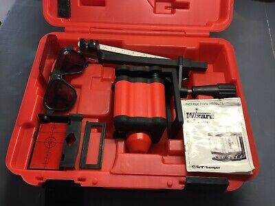 CST / berger LaserMark Wizard Rotary Laser with Case