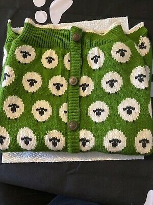 Dog Sweater Large With Sheep
