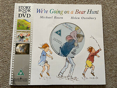 We're Going On A Bear Hunt Story Book And Dvd