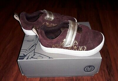 Baby Boys Toddler Clarks Shoes Iron Man Size 4.5G 4.5 G