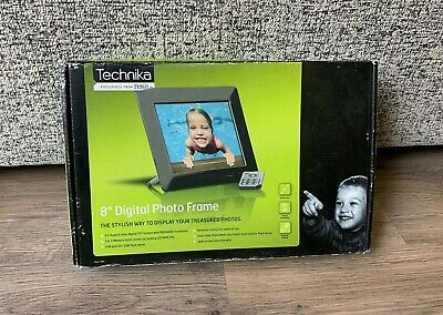 "Technika 8"" Digital Photo Frame- Boxed New & Unused- Show Photos"