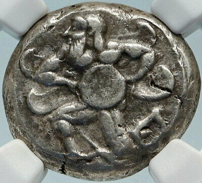 MALLOS CILICIA Authentic Ancient 440BC Silver Greek Stater Coin SWAN NGC i84250
