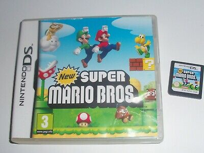 New Super Mario Bros Game Nintendo DS/DSi/3DS/2DS Boys Girls Boxed no manual