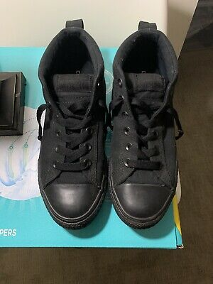 Converse Chuck Taylor All Star Boys  Hi Tops Black Size 6 Great Condition