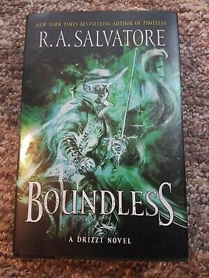 Boundless: A Drizzt Novel by R A Salvatore: Read once like new